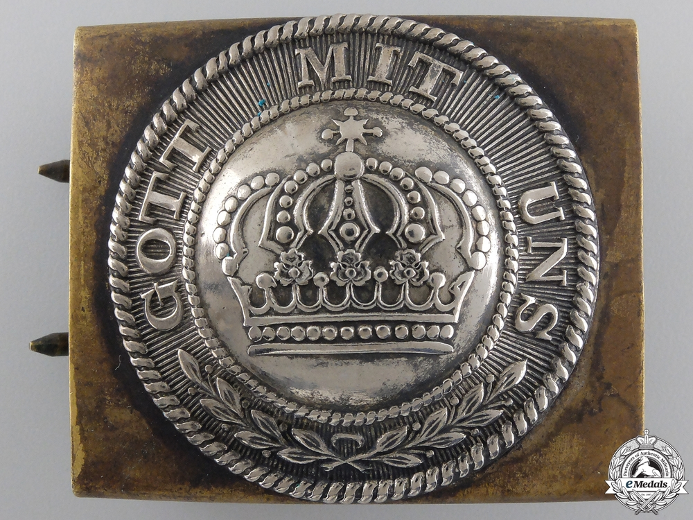 An 1847 Pattern Prussian Army Buckle