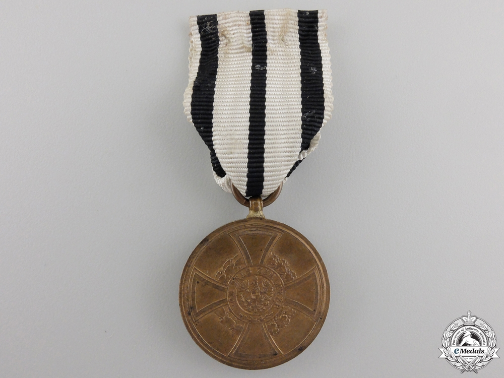 An 1848-1849 Hohenzollern Campaign Medal