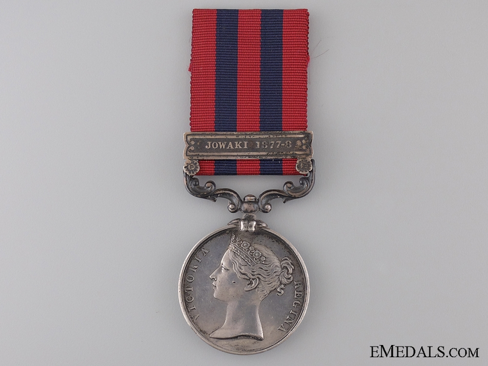 An 1854 India General Service to the 3rd Sikh Infantry