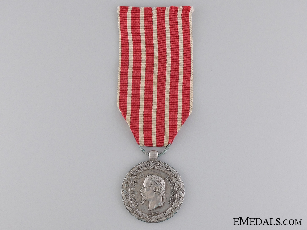 An 1859 French Campaign Medal for Italy