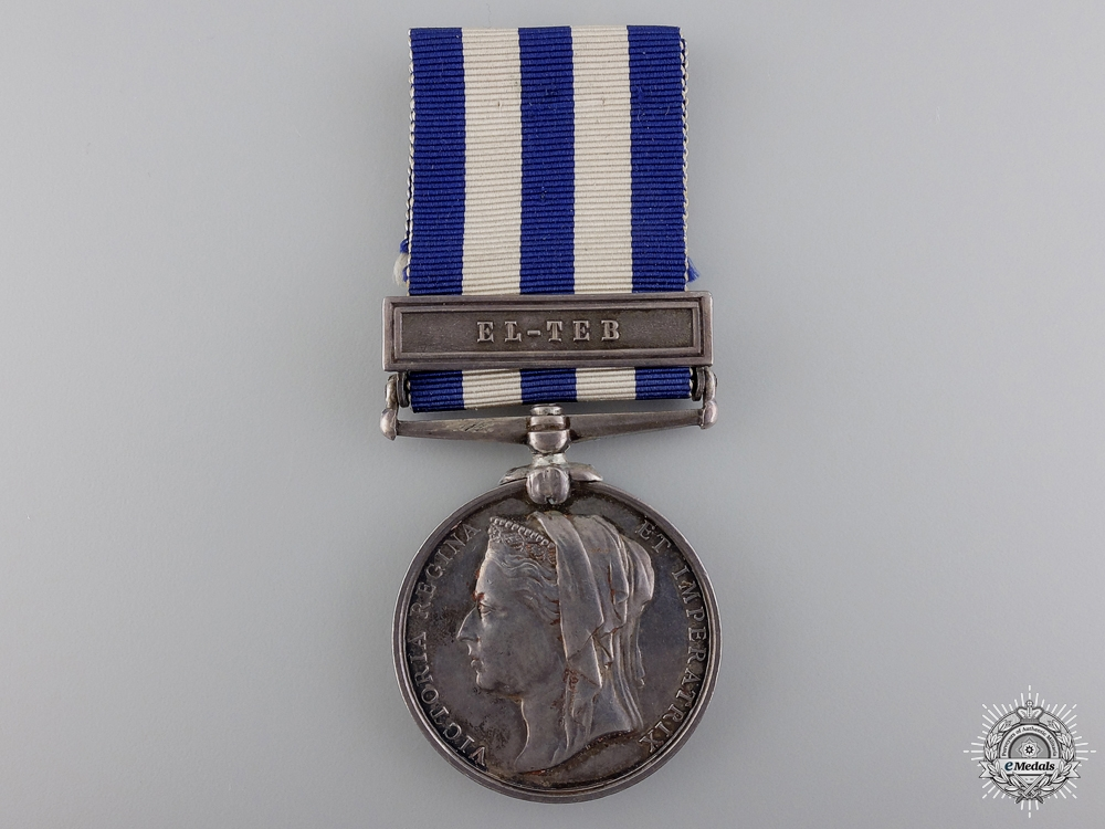 An 1882 Egypt Campaign Medal for El-Teb