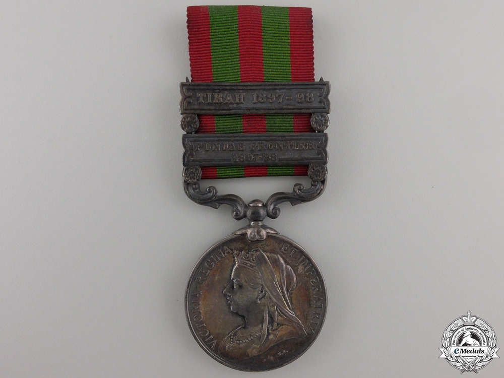 An 1894-1902 India Medal to the Oxford Light Infantry