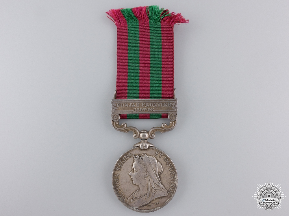 An 1895 India Medal to the 39th Royal Infantry