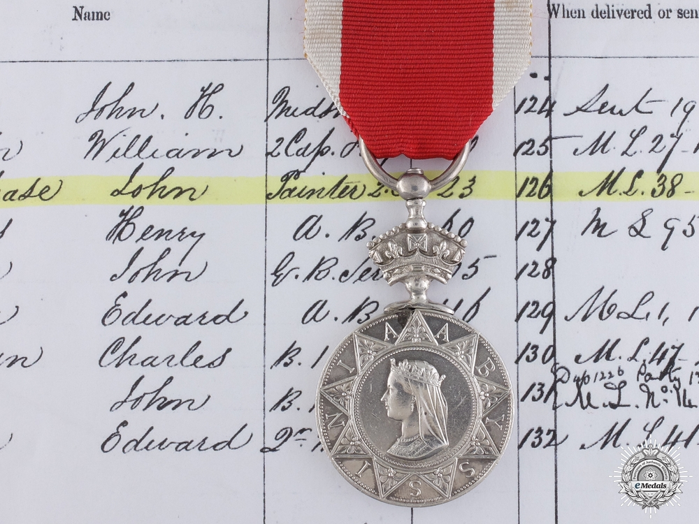 An Abyssinian War Medal to Painter 2nd Class Purchase