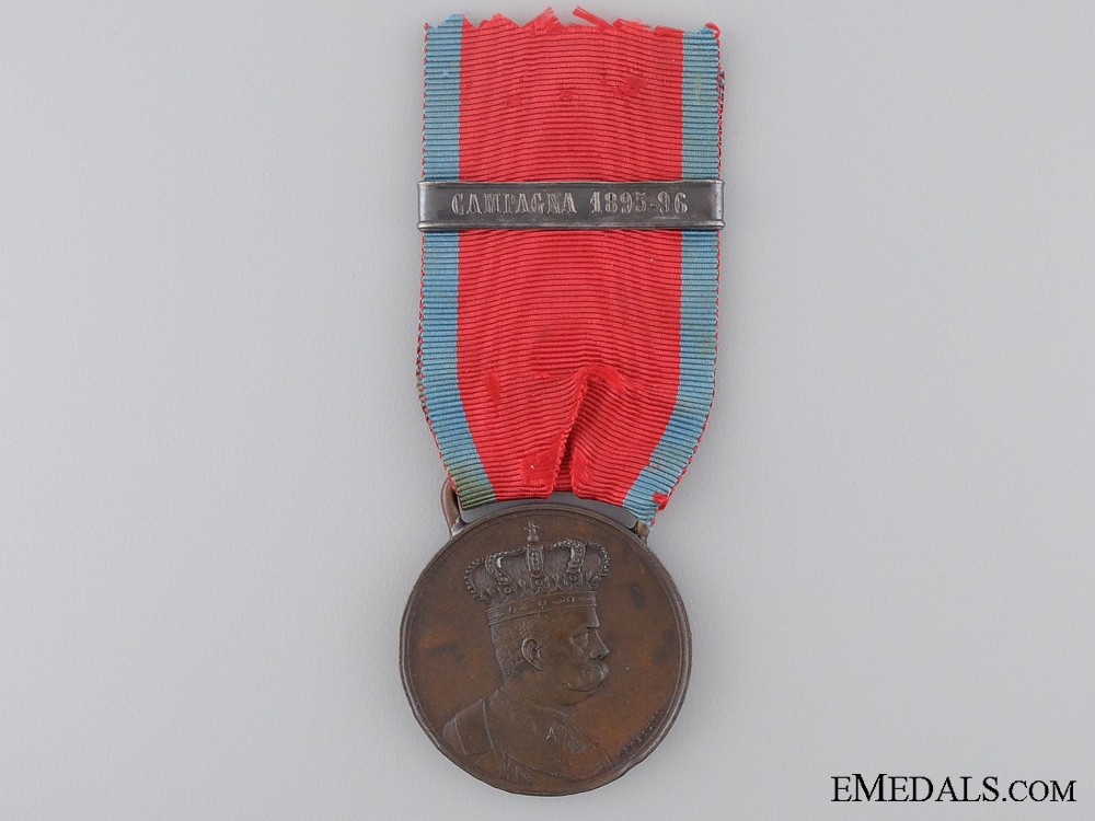 An African Campaign Medal with 1895-96 Campaign Clasp