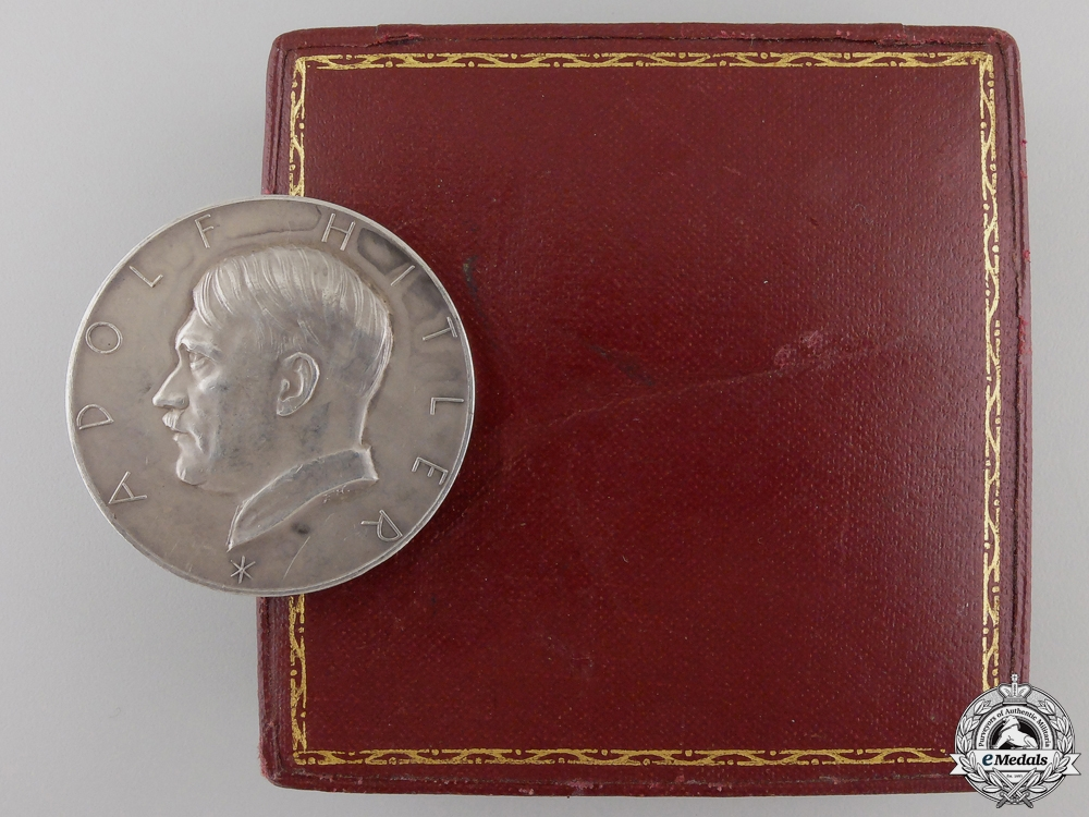 An AH Patriotic Medal with Case