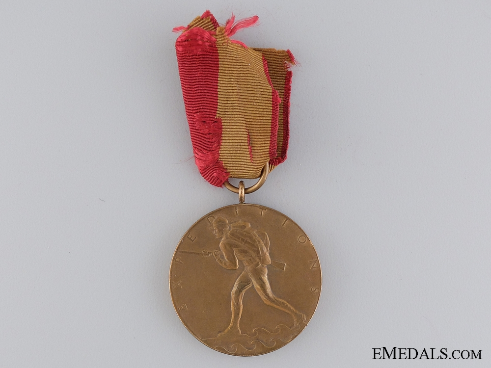 An American Expeditionary Medal; Marine Corps Issue