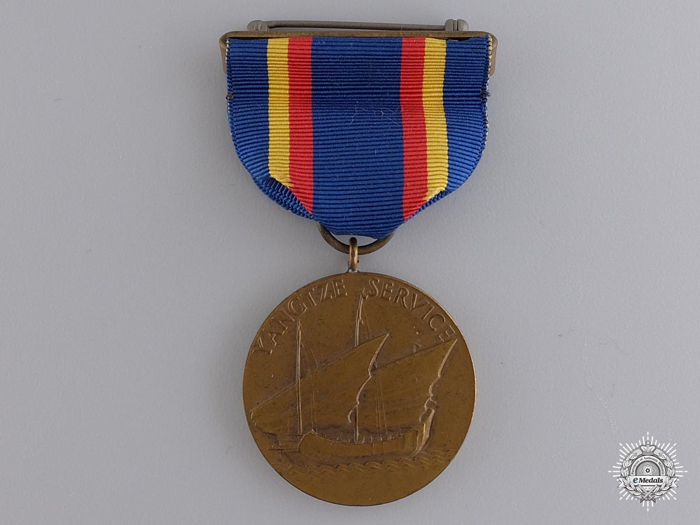 An American Yangtze Service Medal; Numbered