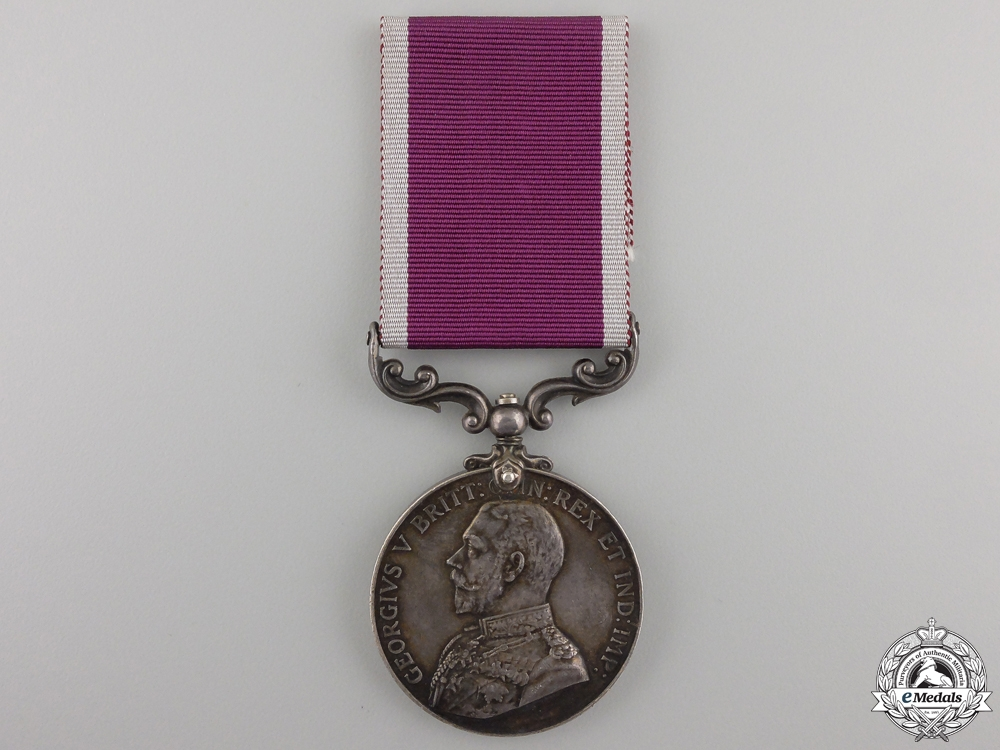 An Army Long Service and Good Conduct Medal to the M.P.S.C