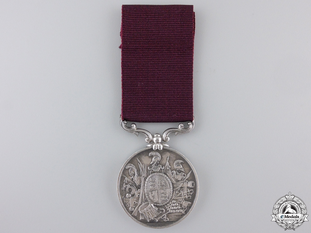 An Army Long Service & Good Conduct Medal to the 55th Foot