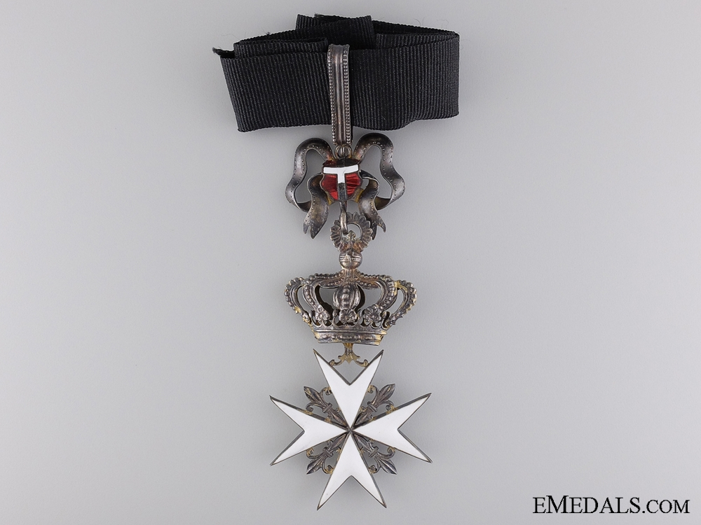 An Austrian Order of the Knights of Malta; Commander