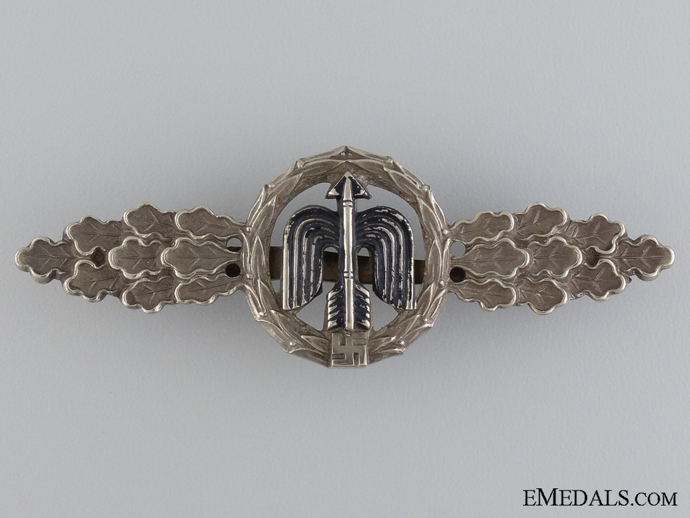 An Early Squadron Clasp for Fighter Pilot's