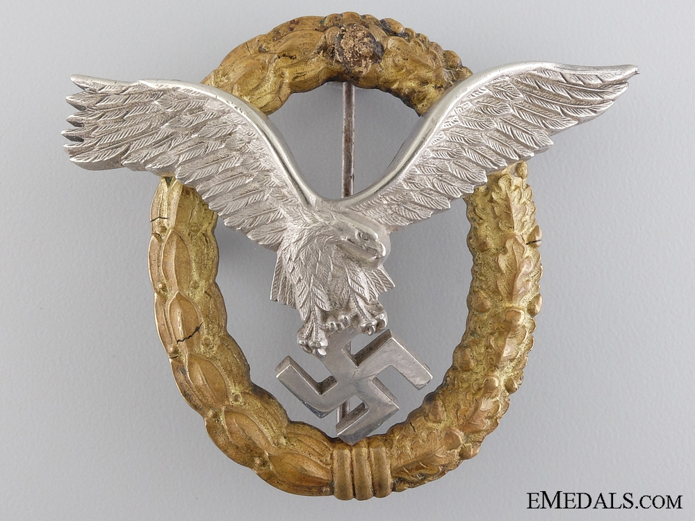 An Early War Combined Pilot and Observer Badge
