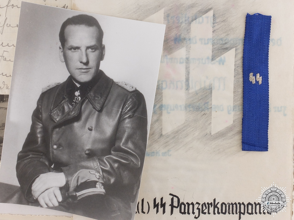An Extensive Family Group to the SS Germania Regiment Commander