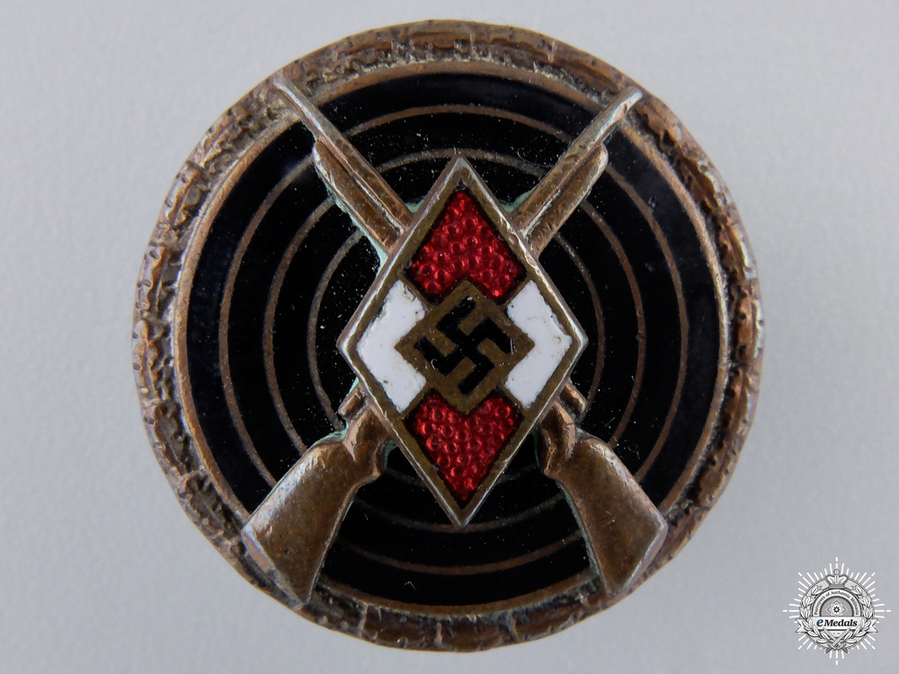 An HJ Shooting Badge by Steinhauer & Lück