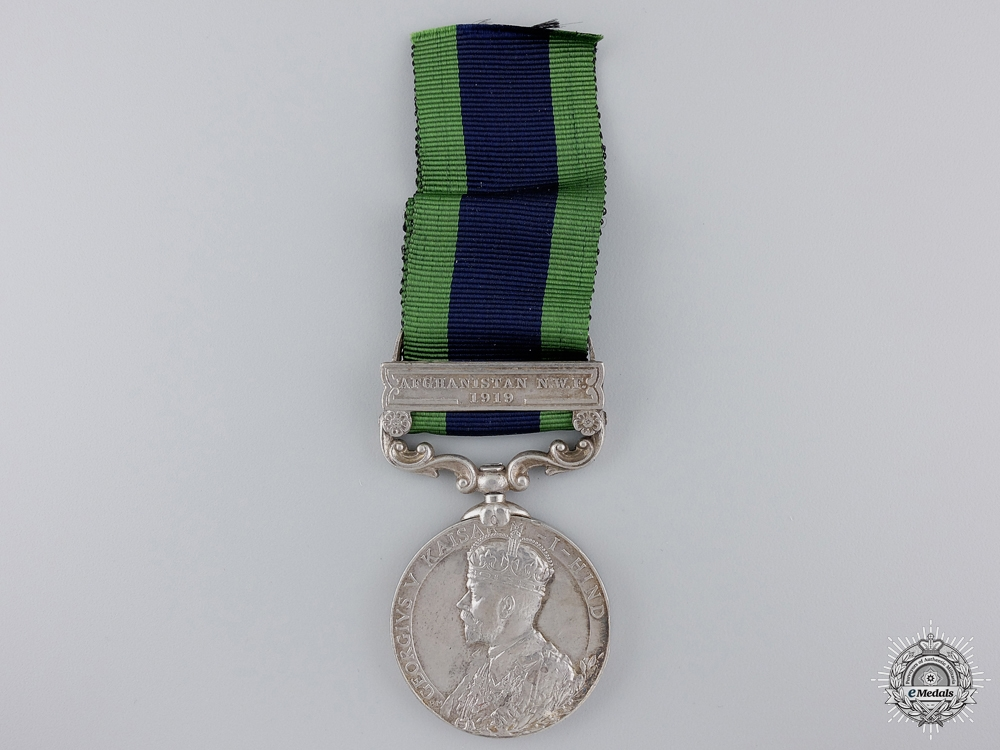 An India General Service Medal 1908-1935 to the Signals