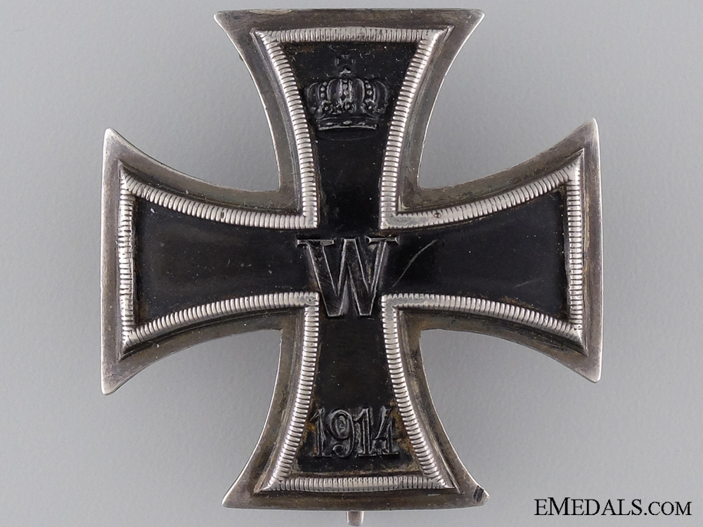 An Iron Cross First Class 1914 by J.W.Werner of Berlin