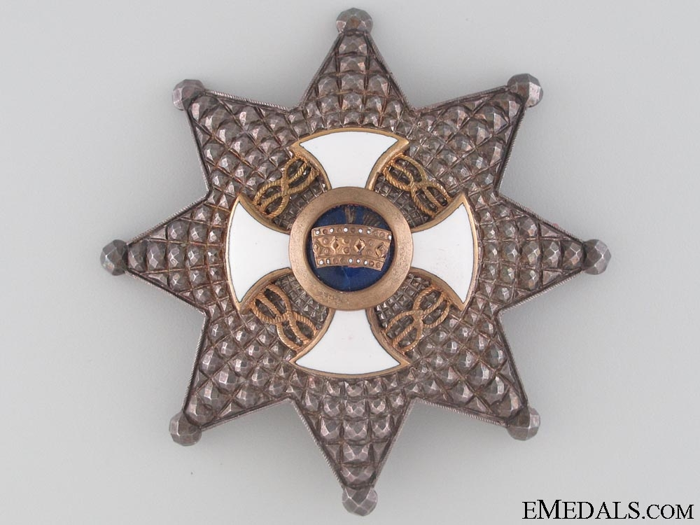 An Italian Order of the Crown - Commander