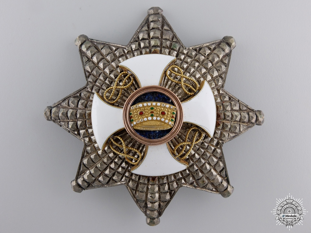 An Italian Order of the Crown; Commanders Star