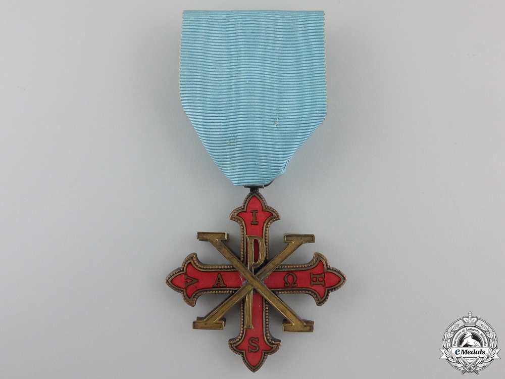 An Italian Order of Constantine of St. George; Knight