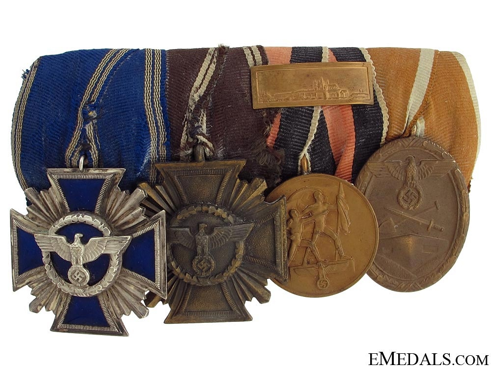 An NSDAP Medal Bar