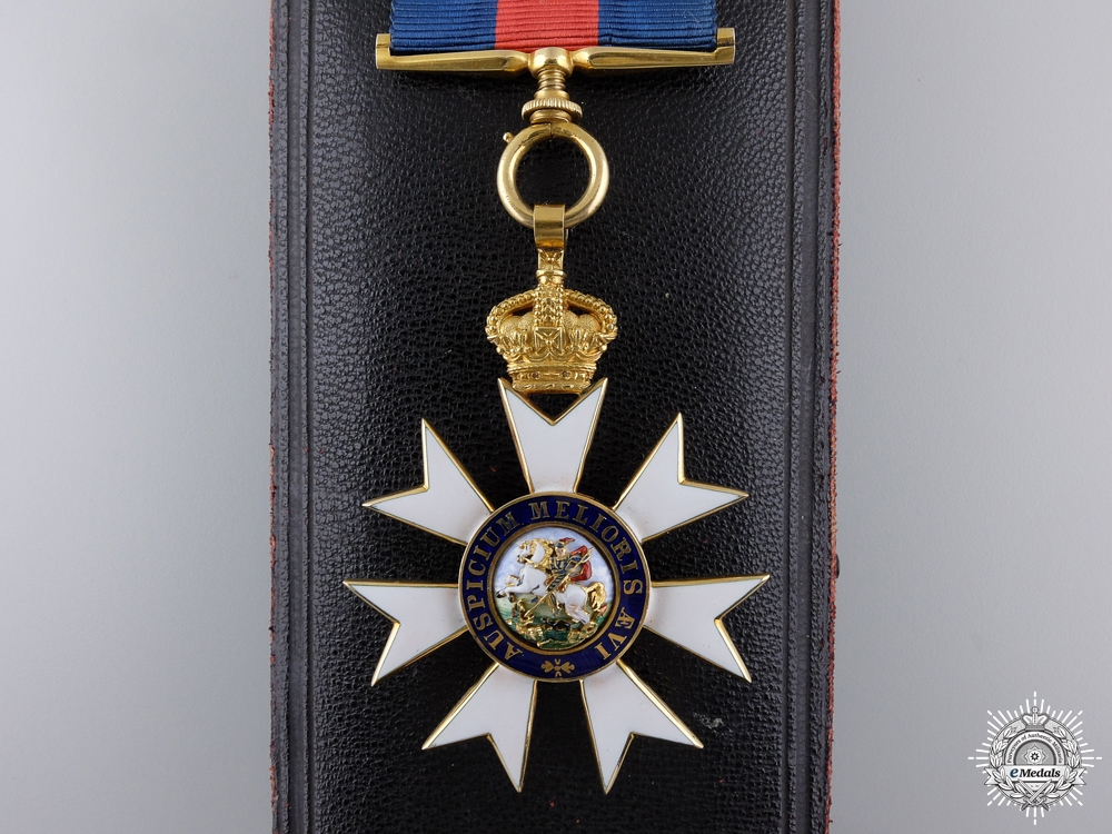 An Order of St.Michael & St. George (C.M.G.); Companion in Gold  consignment 14