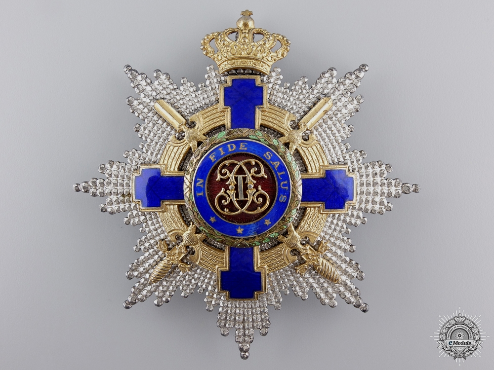 An Order of the Romanian Star with Swords; Grand Cross