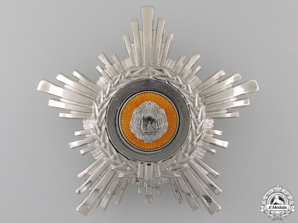 An Order of the Romanian Star; 4th Class