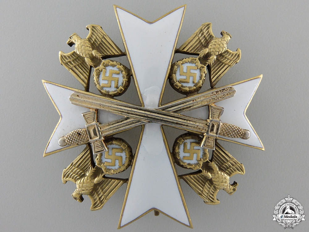 An Order of the German Eagle with Swords' Second Class by Godet