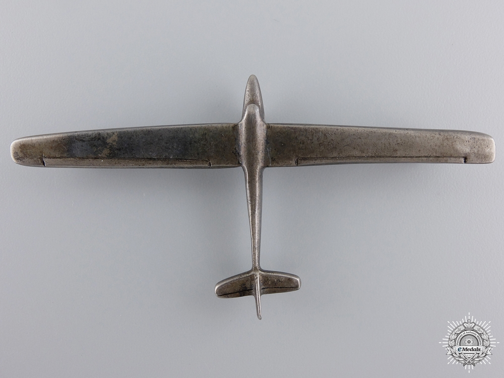 An Unofficial Silver Glider Pilot's Badge