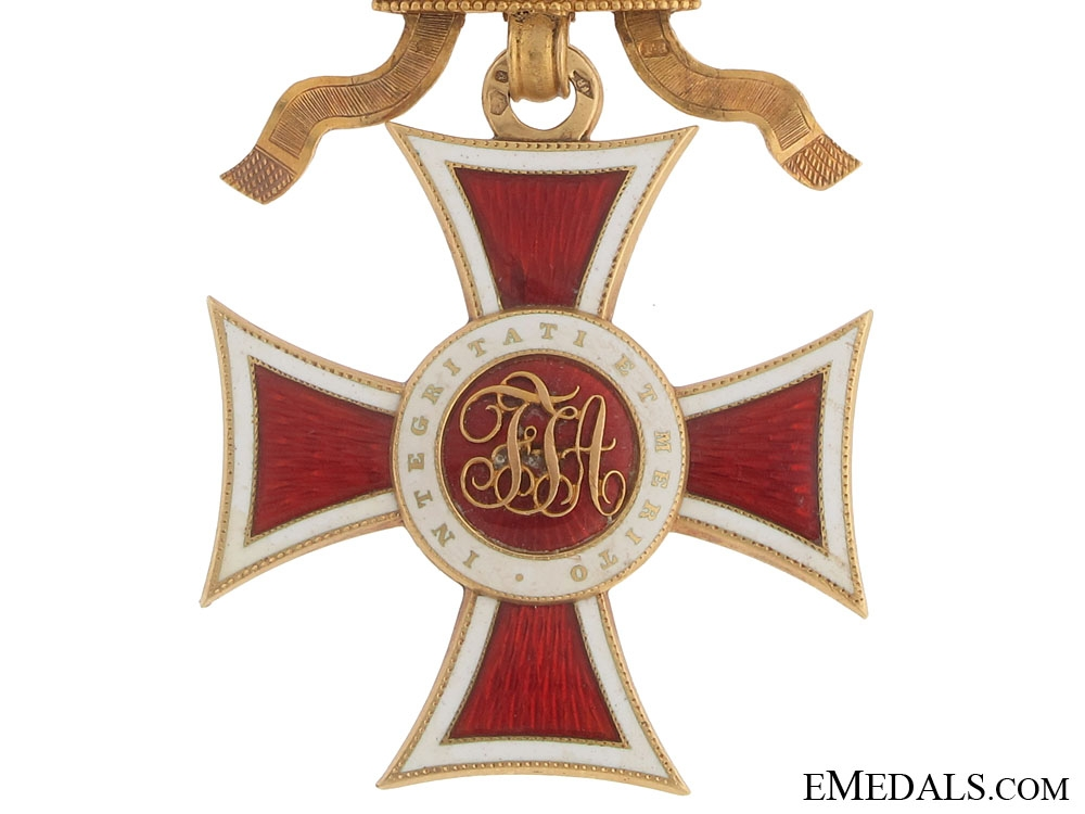Order of Leopold – First Class in Gold