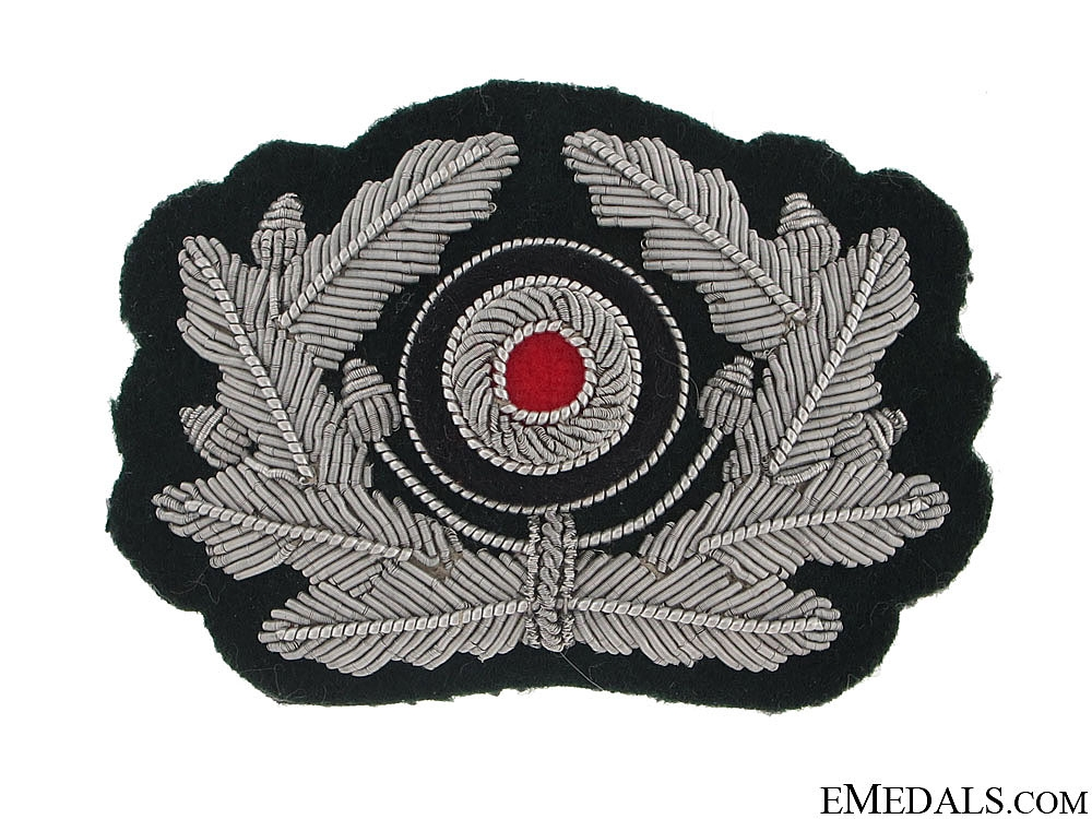Army Officer's Wreathed Cockade (for Visor Hat)