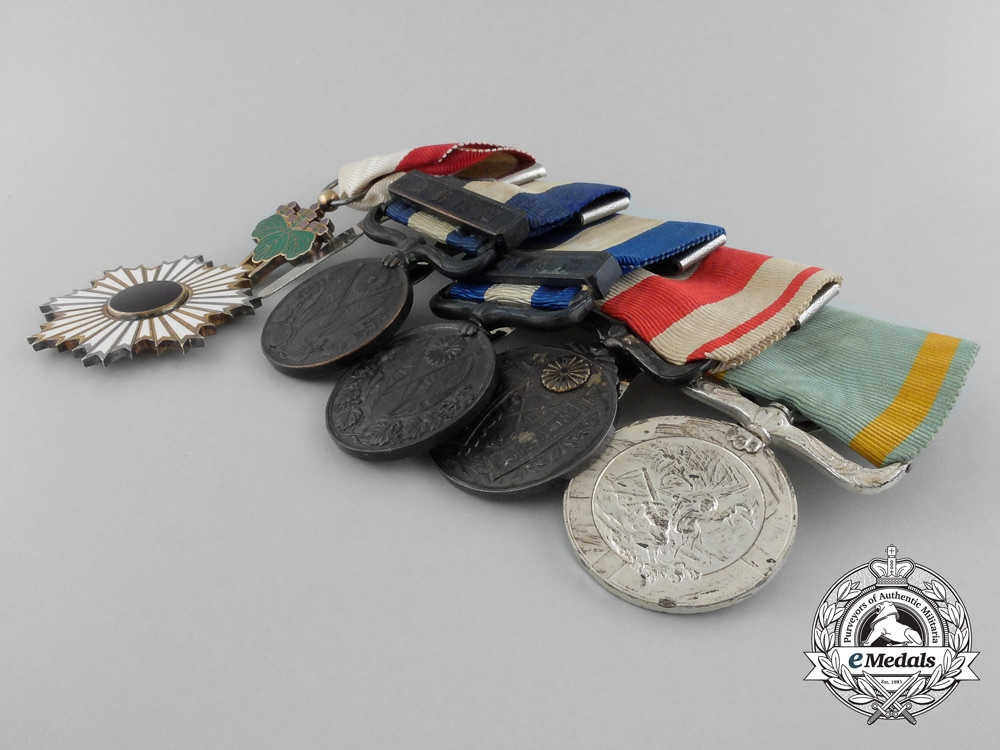 A Second War Japanese Sea Disaster Rescue Medal Bar