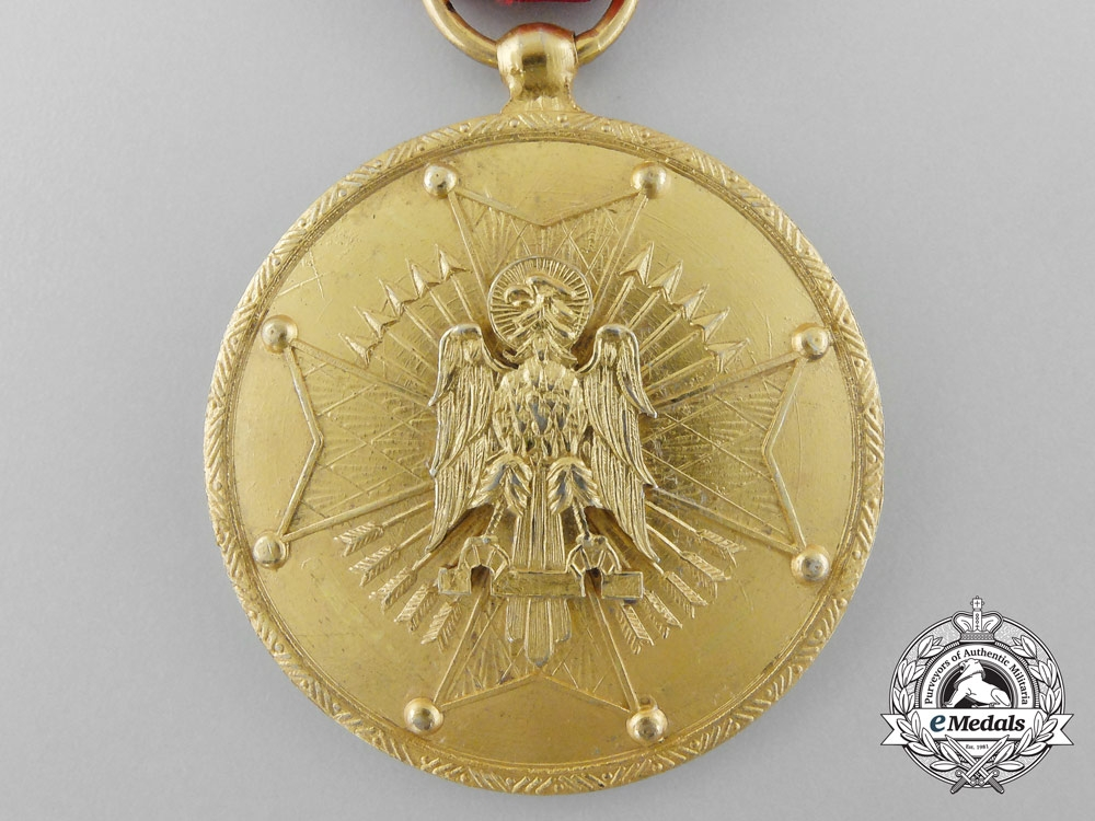 Reverse Due Date >> A Spanish Order of Cisneros; Gold Grade Medal - Spain - Europe