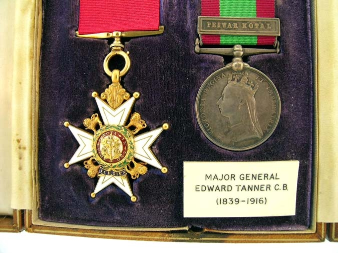 Pair, Major General E. Tanner, C.B. who commanded