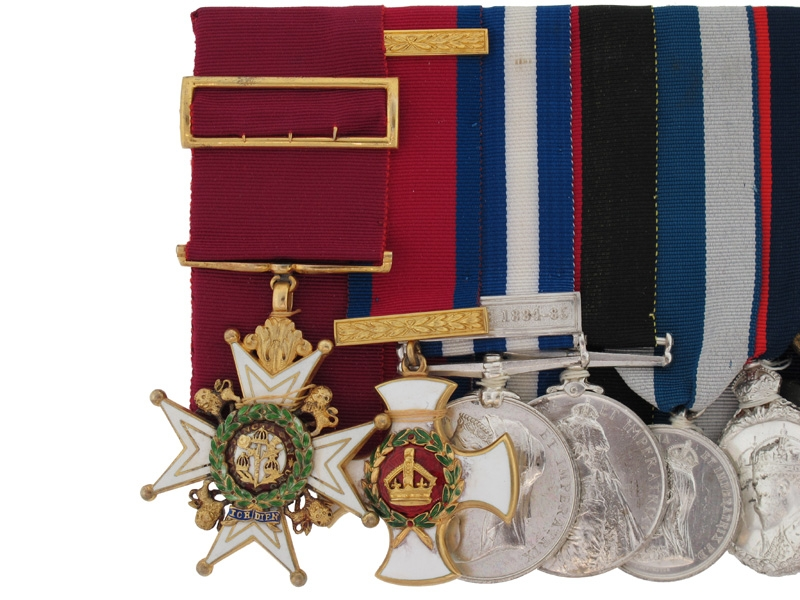 The RARE Awards to Brigadier-General G.L.C. Money
