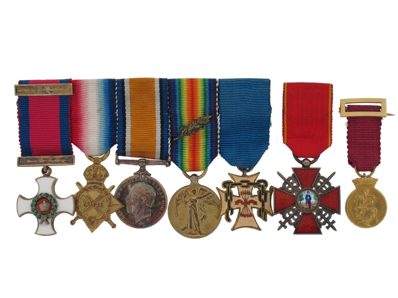 A Remarkable DSO to Captain E. C. Lance