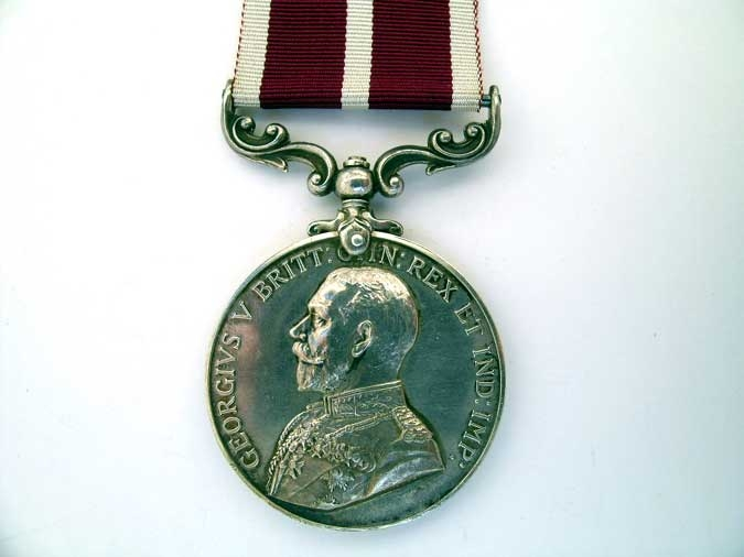 NORTH RUSSIA MERITORIOUS SERVICE MEDAL, H.B. NIELD