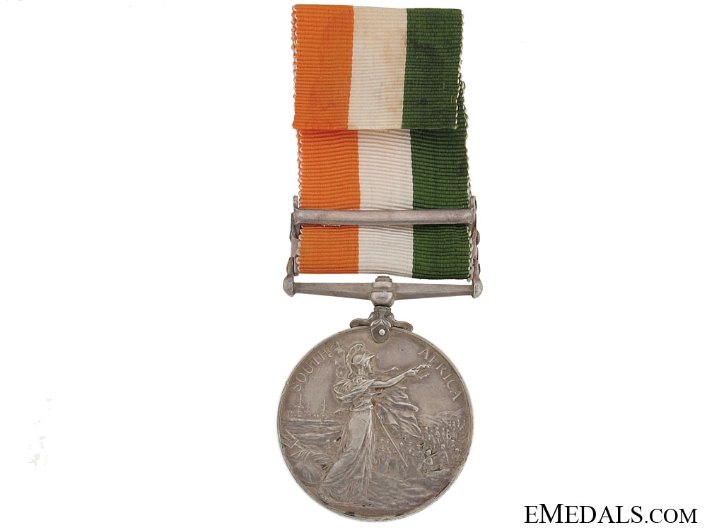 King's South Africa Medal, 1901-1902