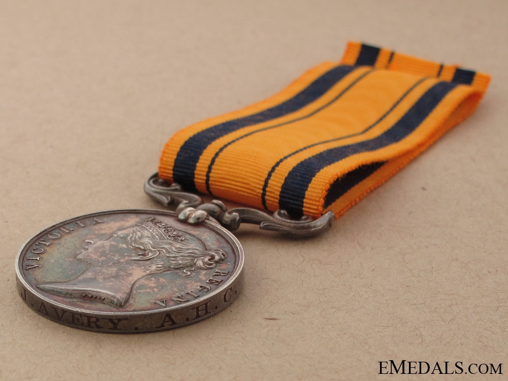 An 1877-79 South Africa to the Army Hospital Corps
