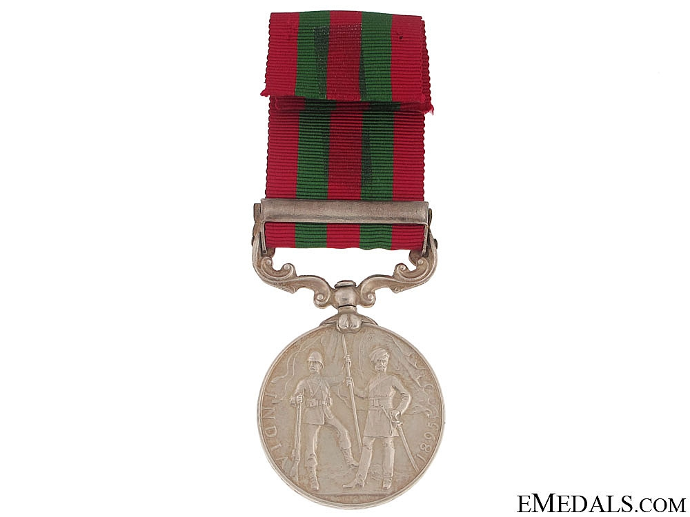 India Medal 1895-1902 - Relief of Chitral