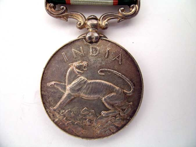 INDIA GENERAL SERVICE MEDAL 1936-37