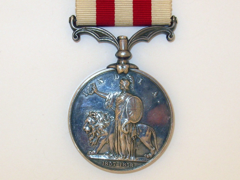 Indian Mutiny Medal,