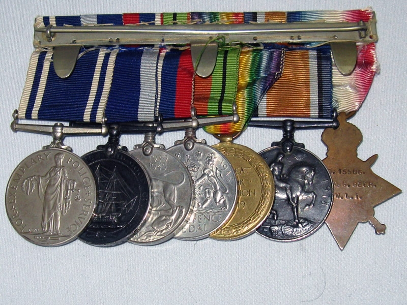 Great War and WWII Group of Seven