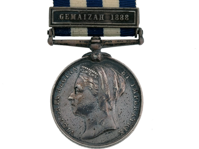Egypt and Sudan medal 1882-89,