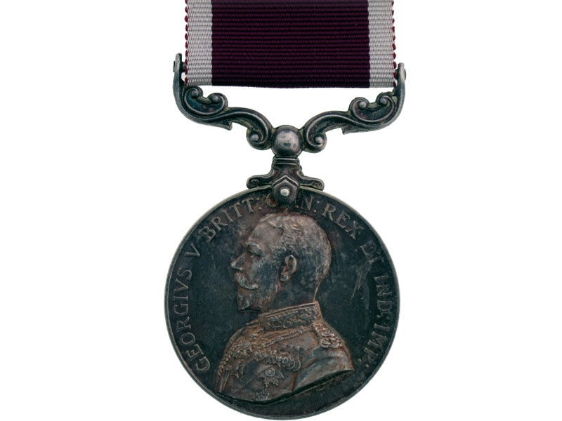 Army Meritorious Service Medal, R.H.A.