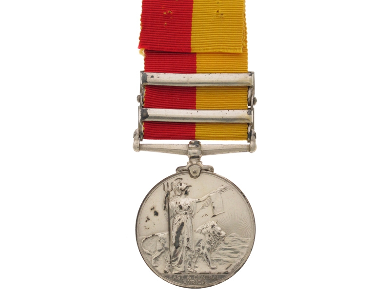 East and Central Africa Medal 1897-1916,