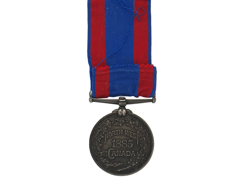 North West Canada Medal, 1885