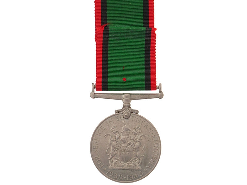 Southern Rhodesia War Service Medal, 1939-1945