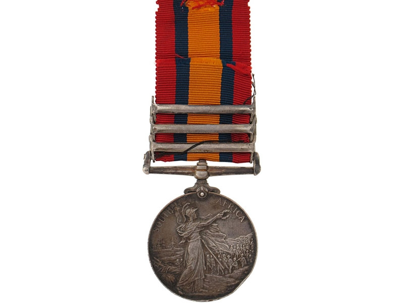 Queen's South Africa Medal, 1899-1902